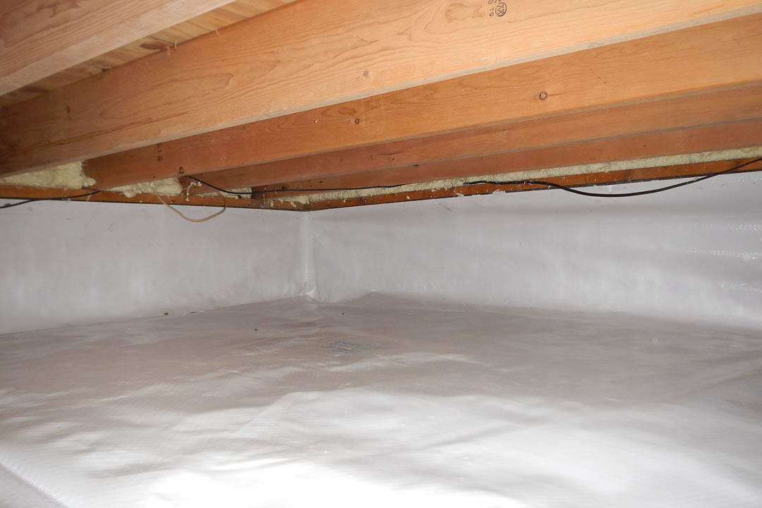 encapsulate your crawl space in idaho falls